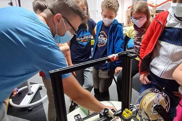 Izvajali smo delavnice 3D tiskanja za otroke