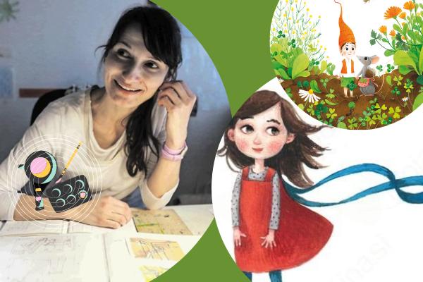 Maja Kastelic – Ilustratorka iz Trebnjega
