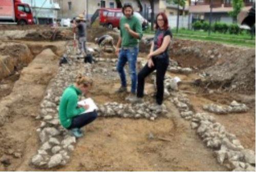 V Trebnjem našli antične naselbinske ostanke