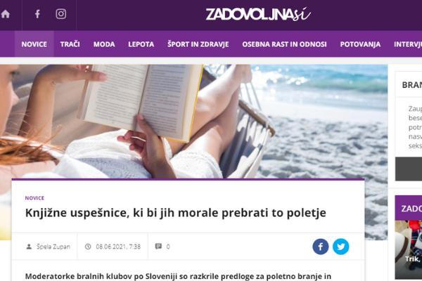 Bralni klub Čarobni svet besed Knjižnica Pavla Golie Trebnje